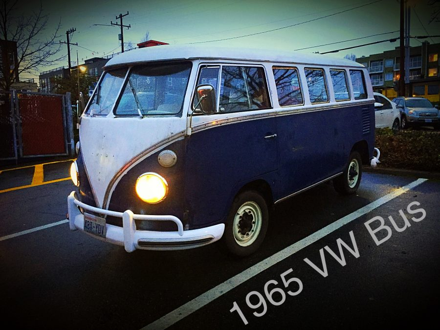My 1965 VW Bus at Fisheries in Seattle