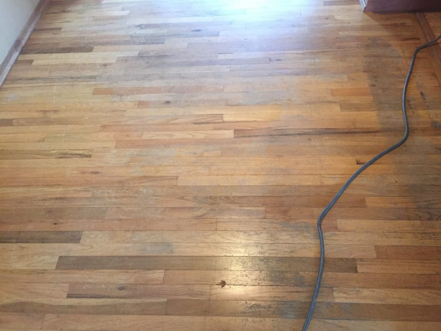Before floor refinishing 3